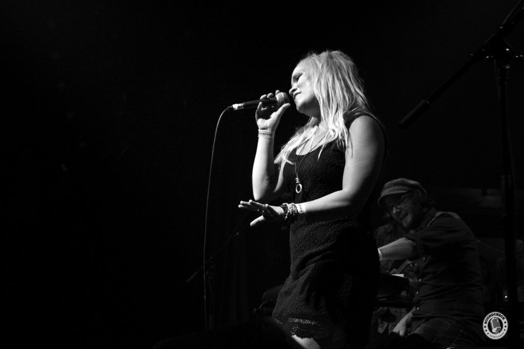 Dani Strong performs at the Phoenix for the Boots & Hearts Pre-Game Party.