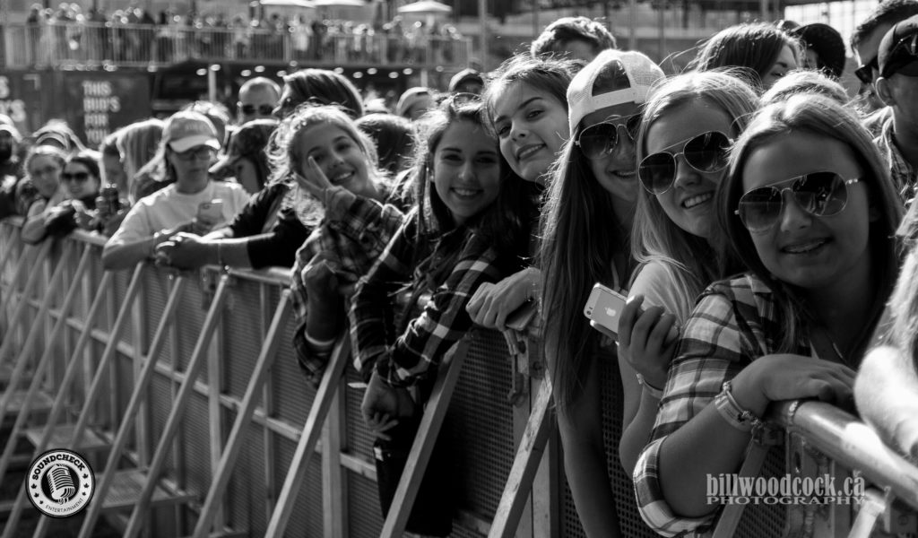 The Fans @ Trackside Music Festival in London, ONT - Photo: Bill Woodcock