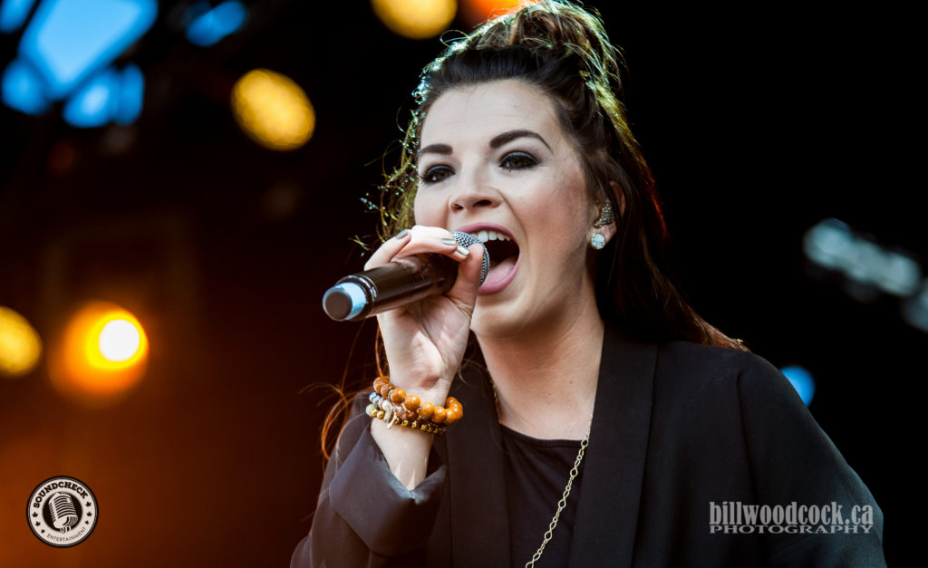 Jess Moskaluke performs at Trackside Music Festival in London, ONT - Photo: Bill Woodcock