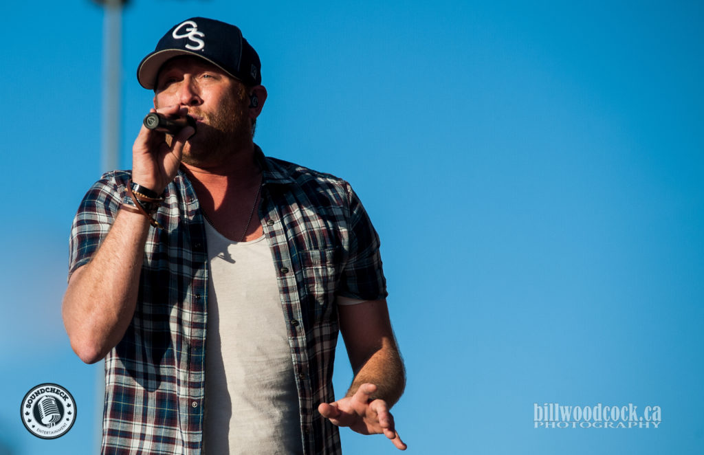 Cole Swindell performs at Trackside Music Festival in London, ONT - Photo: Bill Woodcock