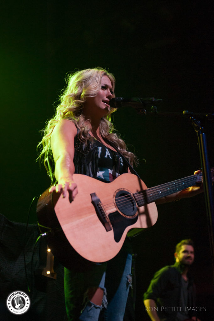 Meghan Patrick performs in Kingston, Ontario as part of Kip Moore's Me and My Kind tour October 13, 2016 photo by Ron Pettitt